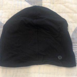 Lulu lemon black hat